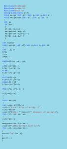 C++ Sorting